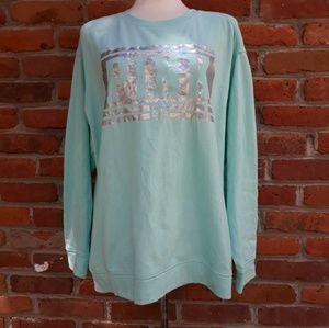 PINK Pullover Graphic Sweatshirt